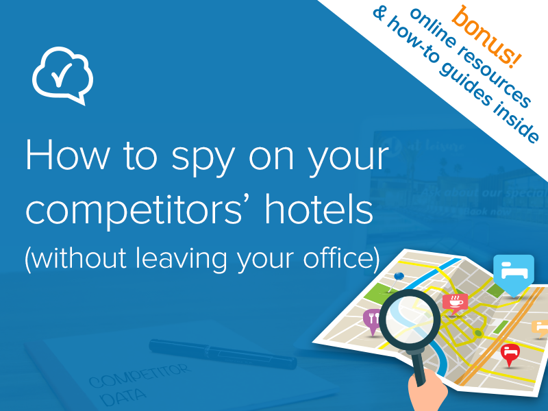 How to spy on your competitors